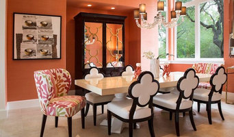 Bold, Colorful Dining Room in the Dominion