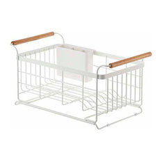 Tosca Over-The-Sink Dish Drainer Rack White