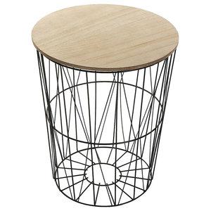 Asti Basket-Style Side Table
