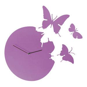 Butterfly Clock, Violet