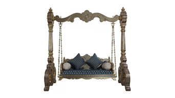 Two Seater Indoor Jhoola Handcrafted Spider India