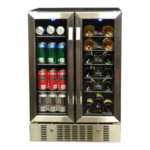 Newair Dual Zone Wine Cooler and Beverage Cooler