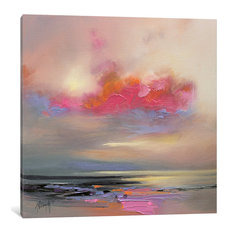"""Magenta Cloud Gallery"" by Scott Naismith, 12x12x1.5"""