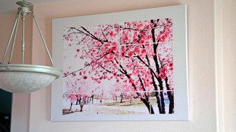 Dining Room DIY Art on Flickr - Photo Sharing!