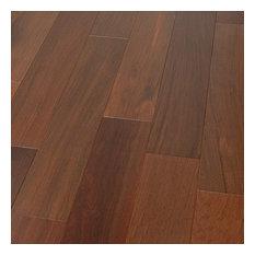 "4 3/4""x1/2"" Brazilian Walnut Prefinished Engineered Wood Flooring, 1 Box"