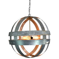 Industrial Chandeliers by Wine Country Craftsman