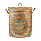 Kaisa Jute Lidded Laundry Basket