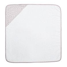 Alfonso Baby Bath Cape Towel, Pink