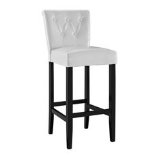 Modway - Tender Bar Stool White - Bar Stools and Counter Stools  sc 1 st  Houzz & Upholstered Bar Stools and Counter Stools | Houzz islam-shia.org