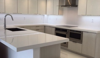 Minimalistic Kitchen. Absolute white counter tops and backsplash. Matte off whit