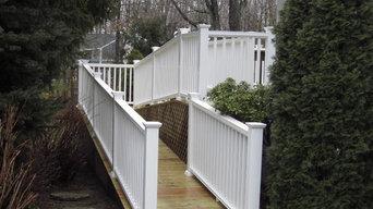 Handicap Ramp - New Deck