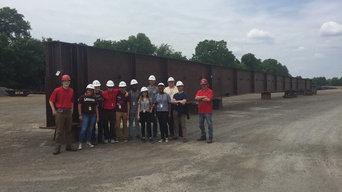 NHERI/REU internship at Lehigh University