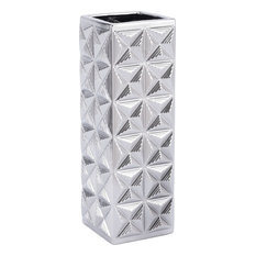 Cosmos Vase, Silver, Large
