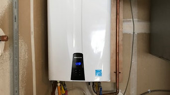 Tankless water heater upgrade