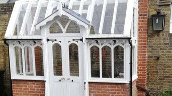 Greenhouse Restoration After restoration
