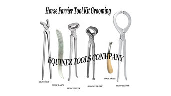 equine dental and farrier tools