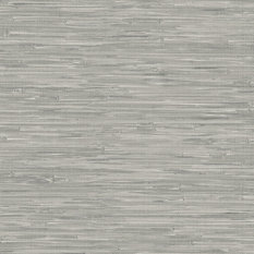Modern wallpaper houzz for Self stick grasscloth wallpaper