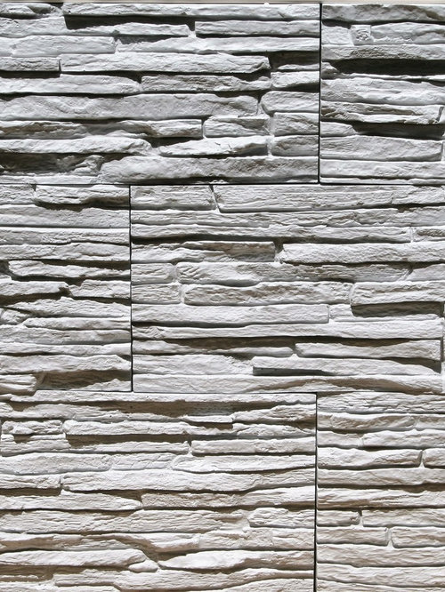 Gypsum Wall Cladding : Stone look wall covering panels reinforced gypsum for
