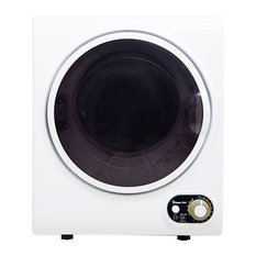 1.5-Cu. Ft. Compact Electric Dryer, White