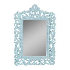 Decorative Wall Mirror, Mint, 34x50 cm