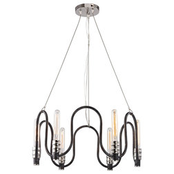 Industrial Chandeliers by BisonOffice