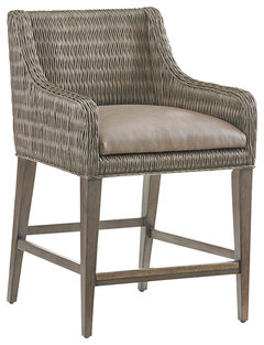 Tommy Bahama Cypress Point Turner Woven Counter Stool More Info