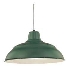 Green pendant lights for less houzz millennium lighting incorporated warehouse pendant light satin green pendant lighting aloadofball Choice Image