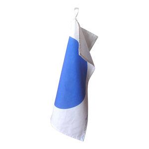Spot Tea Towels, Blue, Set of 2