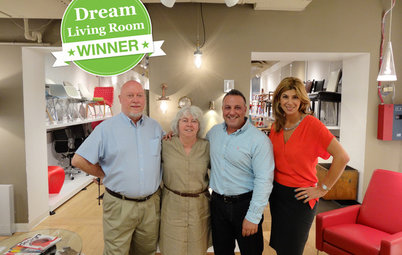 Meet the Winner of Our Dream Living Room Sweepstakes