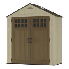 Suncast Everett Resin Storage Shed, 6'x3'