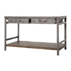 best marbletop kitchen islands and carts  houzz, Kitchen design