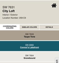 City Loft Sw For Living Room What Color For Adjacent Kitchen