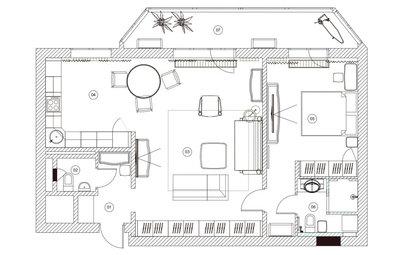 Поиск планировки: 85 кв.м для любимой тещи [6 планов]
