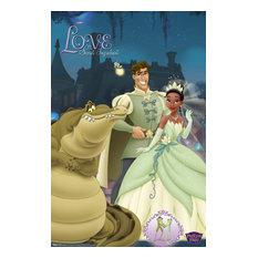 Princess Frog Group Poster, Premium Unframed