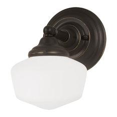 Sea Gull Lighting 44436-782 Academy Wall Sconce, Heirloom Bronze