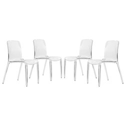 Contemporary Dining Chairs by LeisureMod