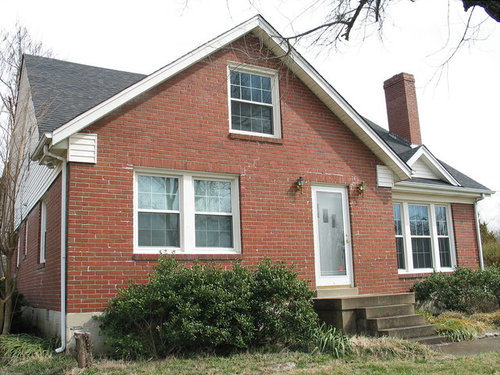 siding color with old red brick