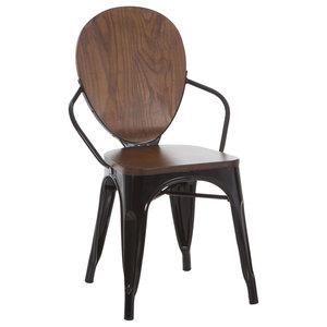 Terek Ovei Chair, Black