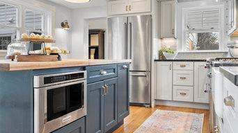 Pine Kitchen + Bath Remodel--Holliston, Massachusetts