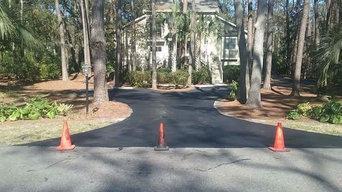 Blacktop Driveway Sealer