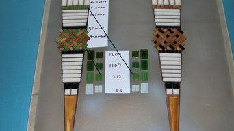 Custom Grand Parasol Tile Preparation