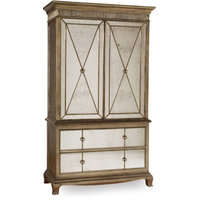 Hooker Furniture 3016-90013 52 Inch Wide Armoire From the Sanctuary Collection