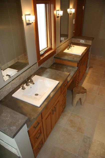 modern bathroom countertops by Agrestal Designs