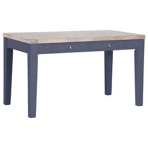 Rectangular Cafe Table, Dark Grey
