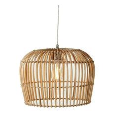 50 most popular tropical pendant lights for 2018 houzz touchgoods rattan dome open weave pendant pendant lighting aloadofball Gallery