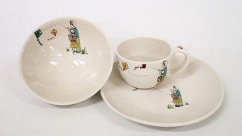 Kids ceramic set x3
