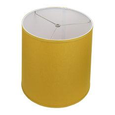 "Fenchel Shades 13""x15""x15"" Spider Attachment Empire Lamp Shade, Linen Curr"