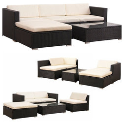 Tropical Outdoor Lounge Sets by Goplus Corp
