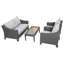 Lovely Contemporary Outdoor Lounge Sets by GDFStudio