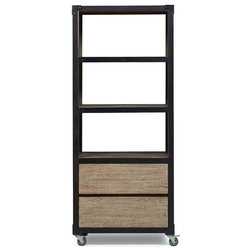 Industrial Bookcases by A.R.T. Home Furnishings